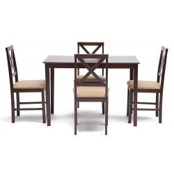 Обеденный комплект эконом ХАДСОН Hudson Dining Set эспрессо