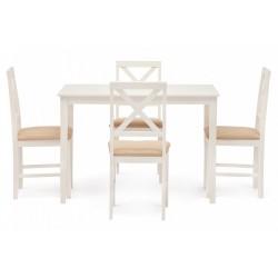 Обеденный комплект эконом ХАДСОН Hudson Dining Set белый