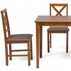 Обеденный комплект эконом ХАДСОН Hudson Dining Set капучино