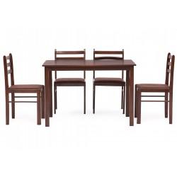 Обеденный комплект эконом СТЕТСОН Statson Dining Set венге