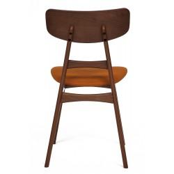 Стул РОН RON brown с мягким сиденьем