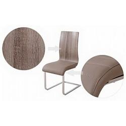 Стул ФЛИНТ FLINT с мягким сиденьем MK-4313-CP