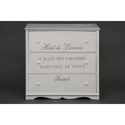 Комод с 3 ящиками ЛАВАНДА Secret De Maison Lavandes