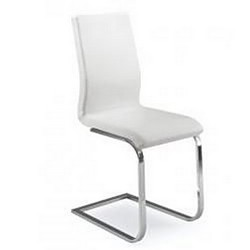 Стул с мягким сиденьем КАН MK-4304-WT